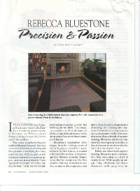 Rebecca Bluestone – Precision & Passion. Handwoven, March/Apr 1999